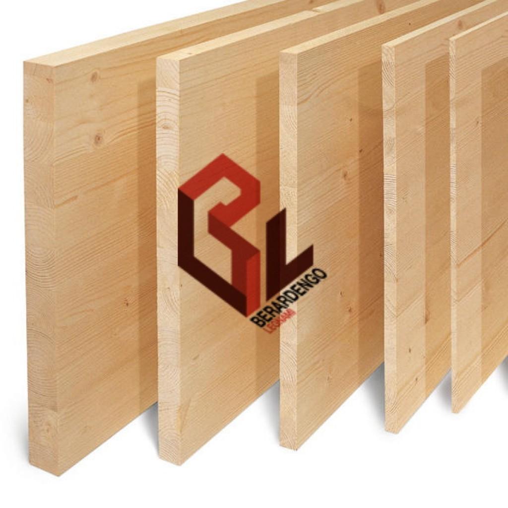 Berardengo legnami lamellari for Pannelli in legno lamellare prezzi